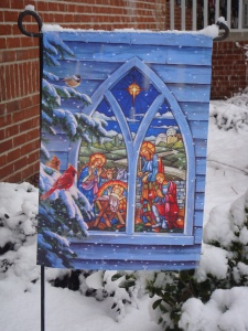 The Nativity: Our Yard 2010