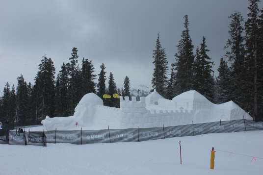The Snow Fort: Dercum Mountain 2-28-2012
