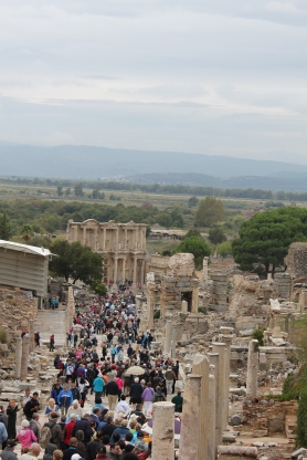 Ephesus: Headed the Library