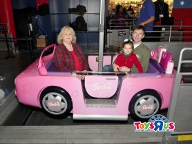 Nana & Sean's 1st Ferris Wheel Picture with Ammon: 3rd Annual Toys R Us Ferris Wheel Ride