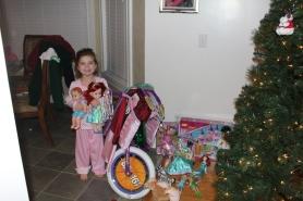 Santa was good to Ammon!
