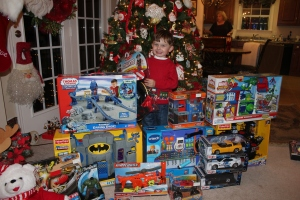 Carter's Nana Claus haul!