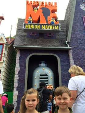 Universal Studios at the new Menion Mayhem: July 14