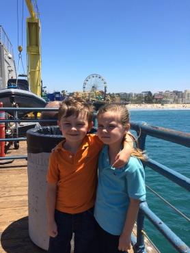 Santa Monica Pier July 16.
