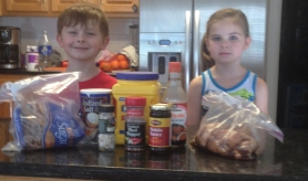 Ammon & Carter flank the Ingredients