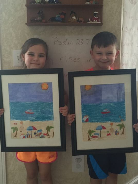 Ammon & Carter share another Mixed-Media Masterpiece July 20, 2015