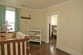 Nursery Adjoins Master: Our room does not connect with Carter & Ammon's; However, our doors are 10 ft. apart