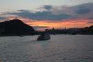Danube river: Dusk