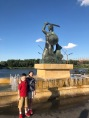 On the Vistula River: The Mermaid is the symbol of the city