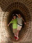 Replica of the Warsaw Sewers where brave children helped to liberate their city!